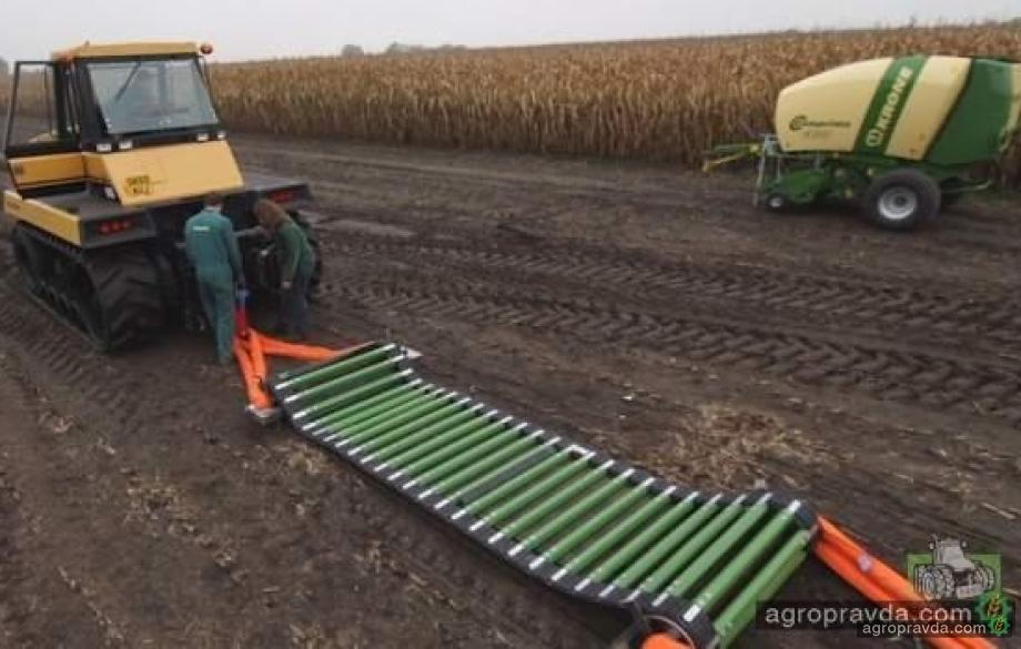 Тракторы против системы NovoGrip: видео не для слабонервных
