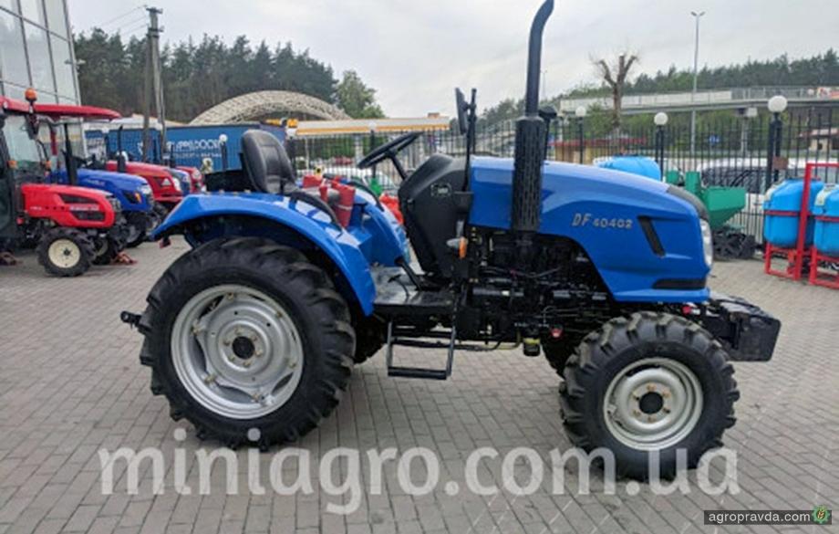 Тракторы DongFeng усовершенствуют в соответствии с пожеланиями украинских аграриев