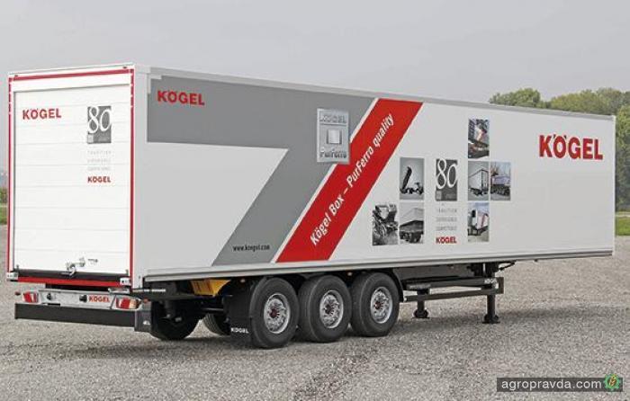 Kogel представил новый аграрный фургон