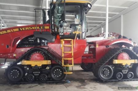 В Украине появился ТОПовый 4-гусеничный трактор Versatile