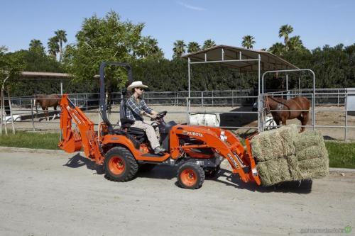 Kubota представила новые мини-трактора BX70