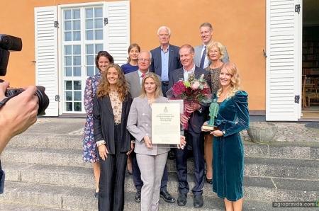 Власники компанії Väderstad отримали нагороду «Підприємець року»