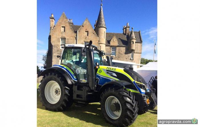 Трактор Valtra примерил новую профессию
