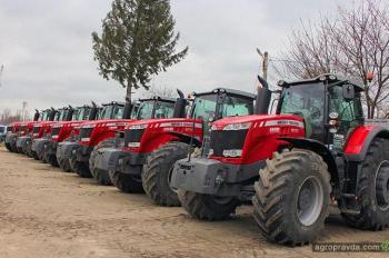 Агрохолдинги продолжают покупать тракторы Massey Ferguson