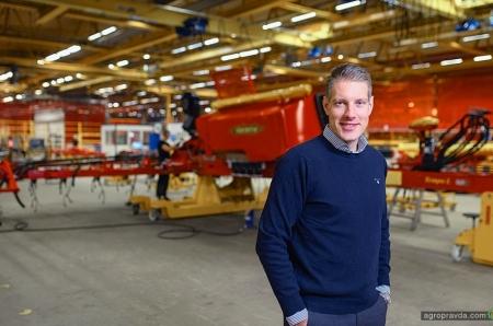Генрік Гілстрінг обійматиме посаду генерального директора Väderstad