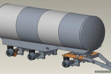 Joskin представил новую цистерну для транспортных перевозок