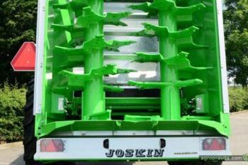 Joskin представил новый разбрасыватель Tornado3