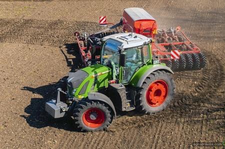 На рынок вышли тракторы Fendt 700 с инновационной системой управления