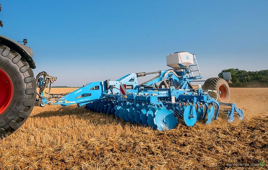 Lemken усовершенствовал технологии посева