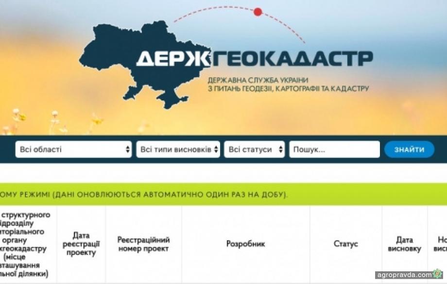 Госгеокадастр открыл расширенные данные о земельных участках