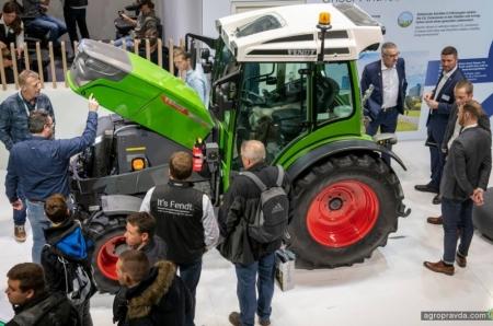 Какие инновации представил Fendt на выставке Agritechnica