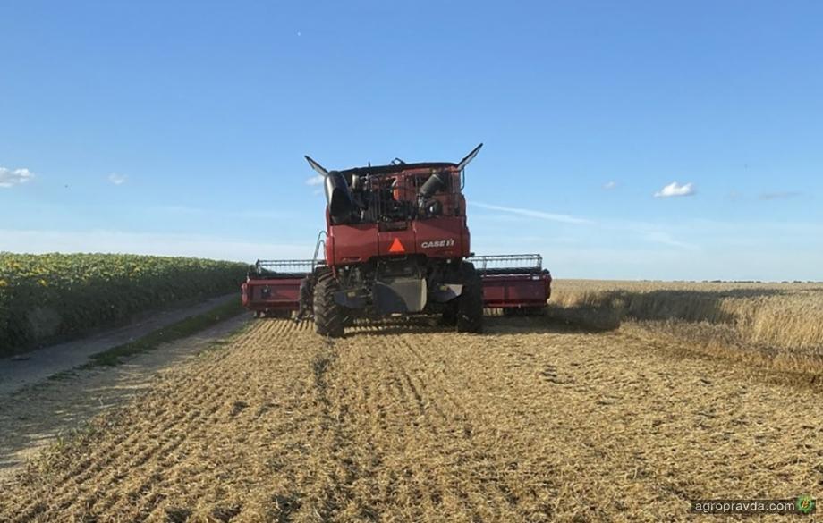 Аграрии Черкасской области собрали первую четверть урожая
