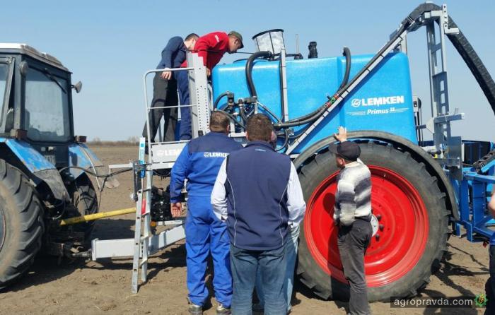 Lemken продолжит знакомить аграриев Украины с новой техникой