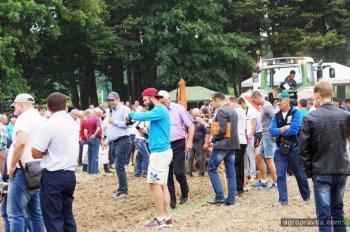 Новинки Fendt впервые продемонстрировали в Винницкой области