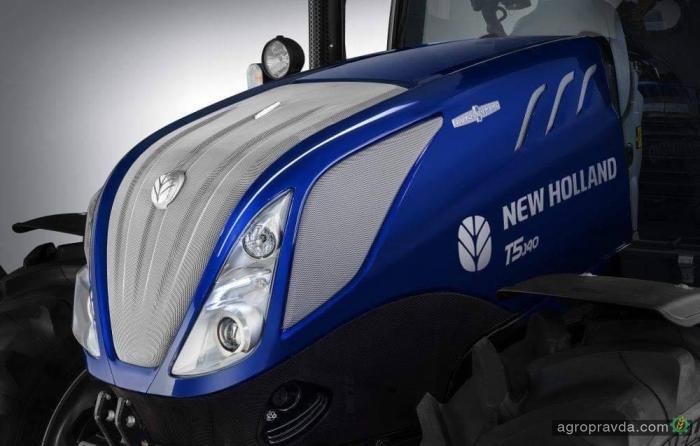 New Holland представит новое поколение тракторов T5