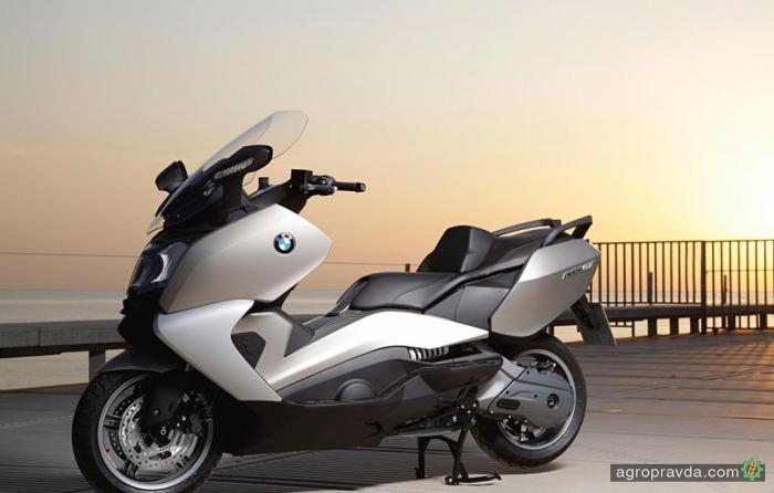 В линейке BMW может появиться фермерский скутер