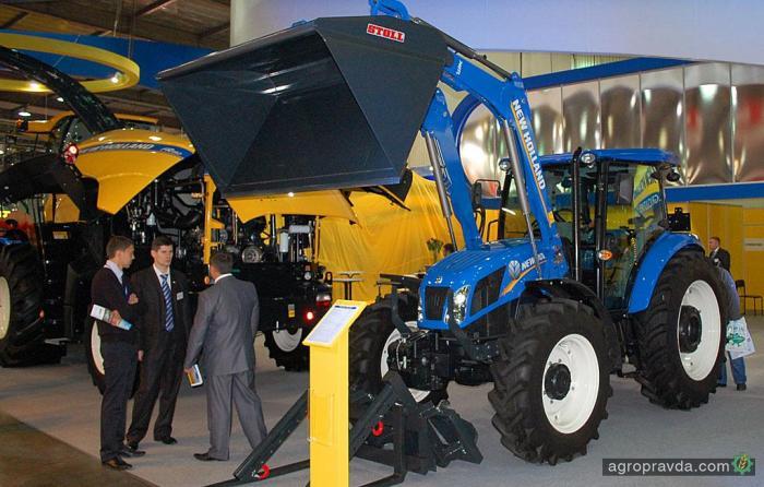 Представлен еще один конкурент МТЗ: трактор New Holland TD5
