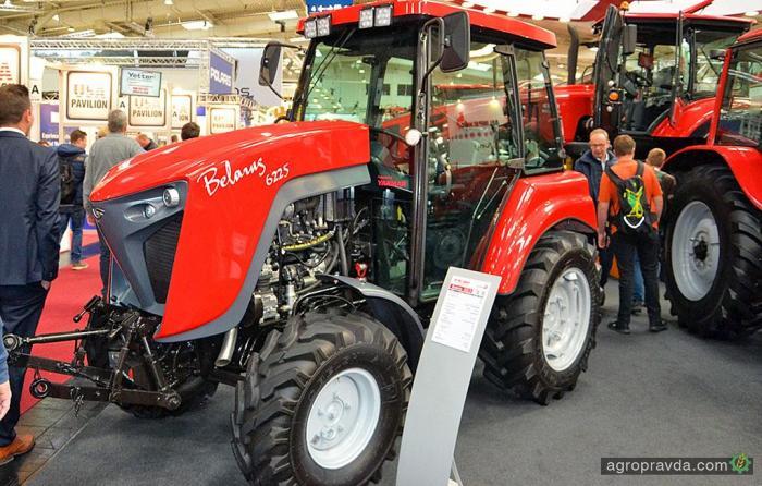 Новую модель малогабаритного трактора «Беларус-622.5» презентовали на выставке в Ганновере