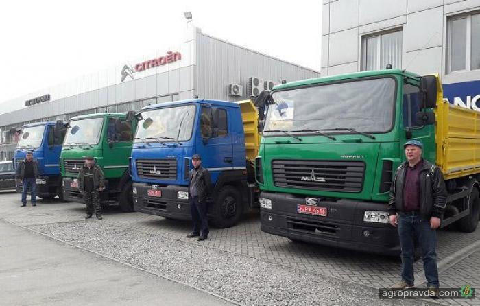 Агрофирма закупила крупную партию сельхозсамосвалов МАЗ Корнет