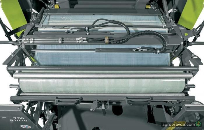Claas усовершенствовал систему обмотки рулонов