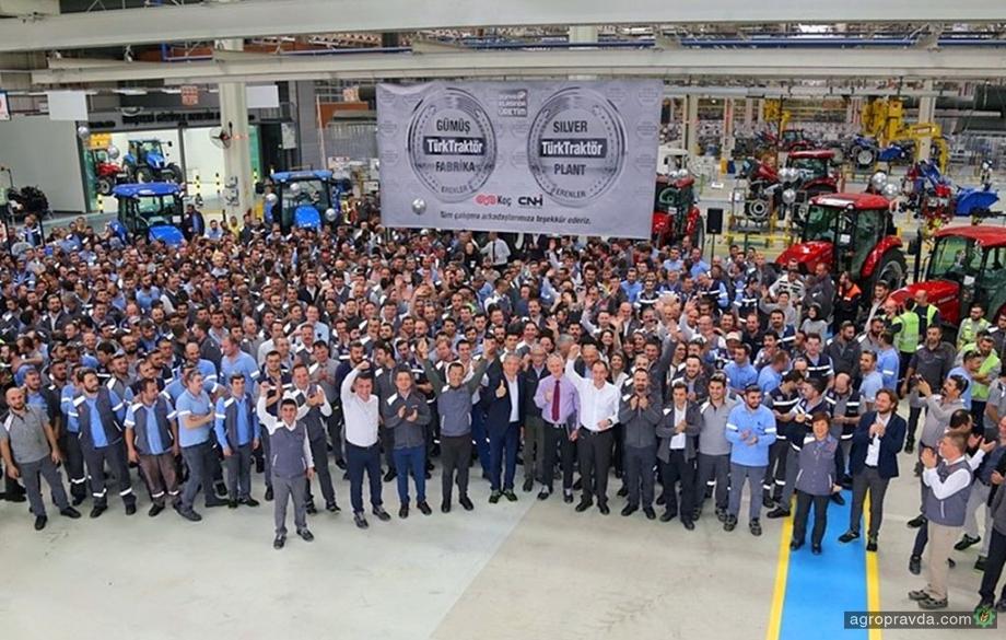Еще один завод тракторов CNH Industrial завоевал сертификат WCM