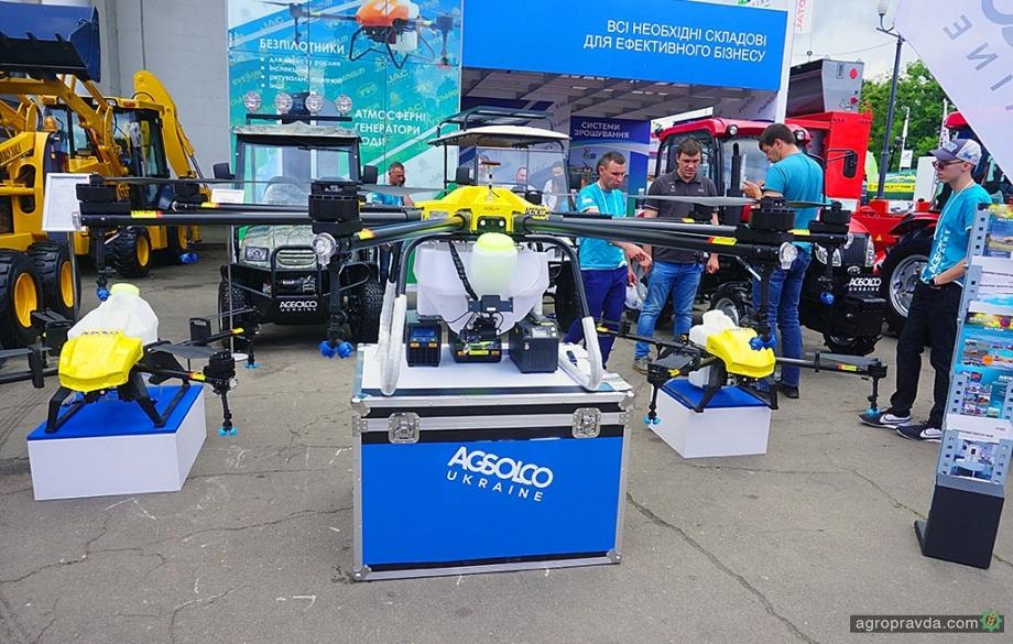 В Украине представили агродрон-гигант