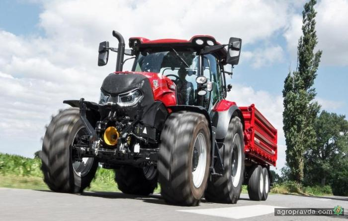 Case IH обновляет трактора Maxxum