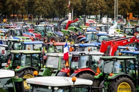 Как отстаивают свои права фермеры в ЕС. Фото