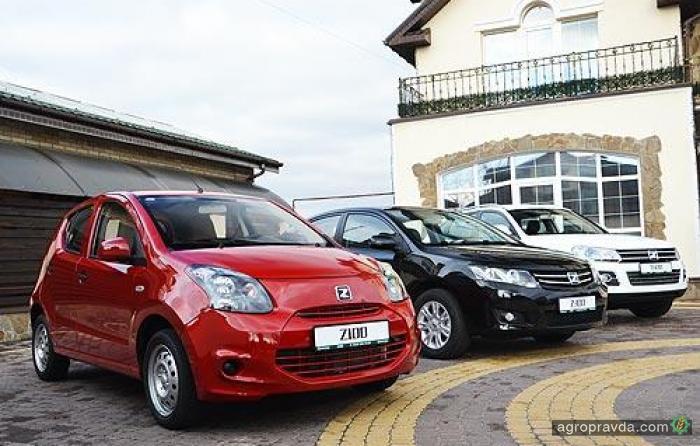 Украинские покупатели поверили в новые автомобили Zotye