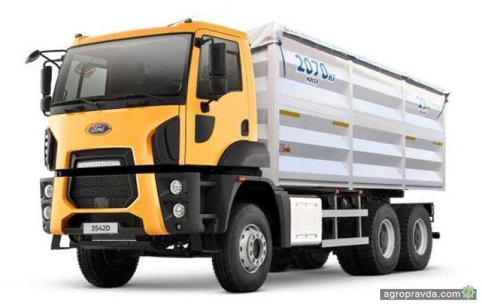 В Украине представят новую модель зерновоза Ford