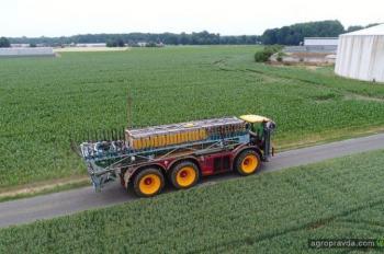 Разработан первый в мире надувной резервуар для органических удобрений