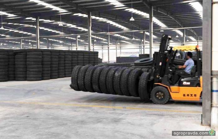 В Украине представлены новые шины Tracross