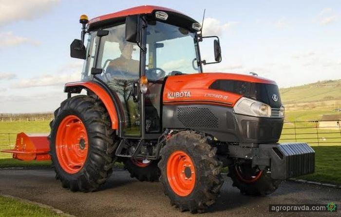 Kubota представит «люксовый» трактор