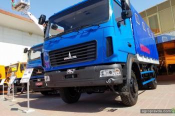 МАЗ представил в Украине легкий полноприводный грузовик