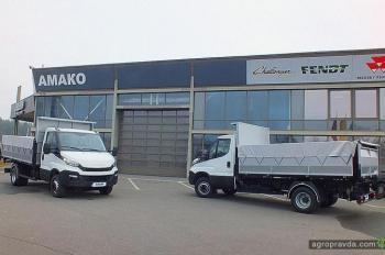 В Украине разработали новые самосвалы на шасси IVECO