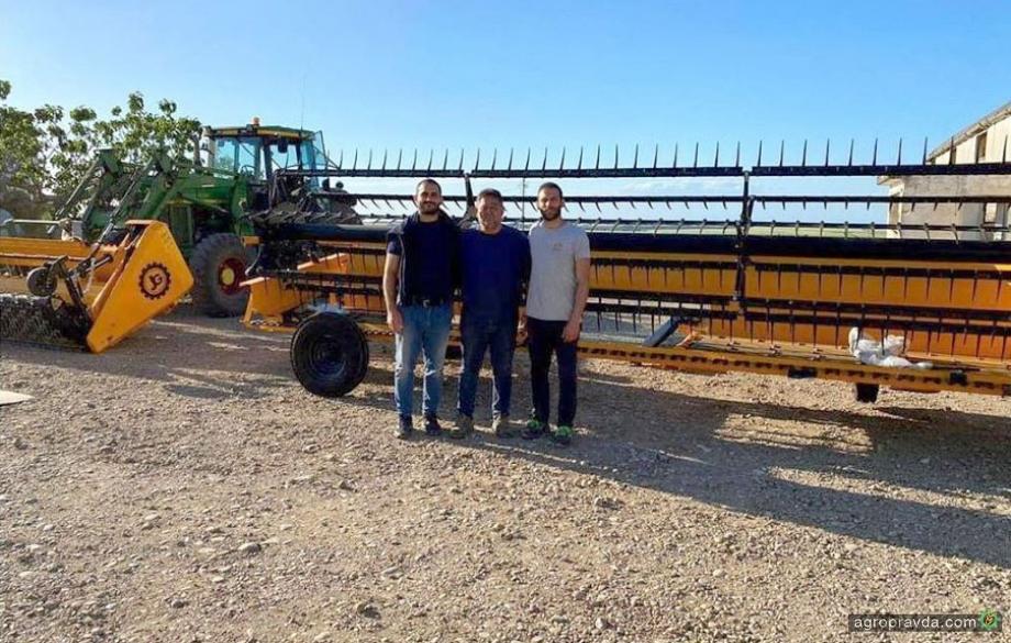 Сельхозтехника John Greaves на итальянских полях