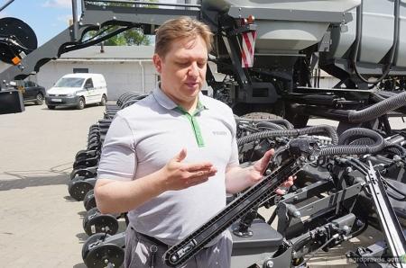 Инновационная сеялка Fendt уже в Украине. Все подробности