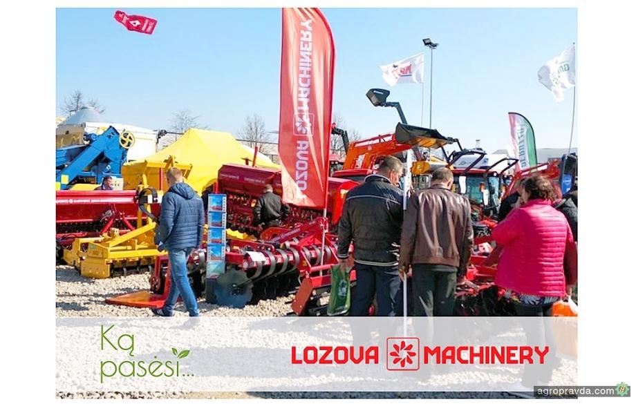 Lozova Machinery представили на рынке Латвии