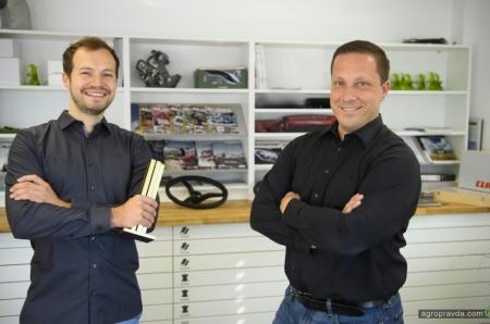 Claas Lexion нового поколения отмечен золотой медалью за дизайн