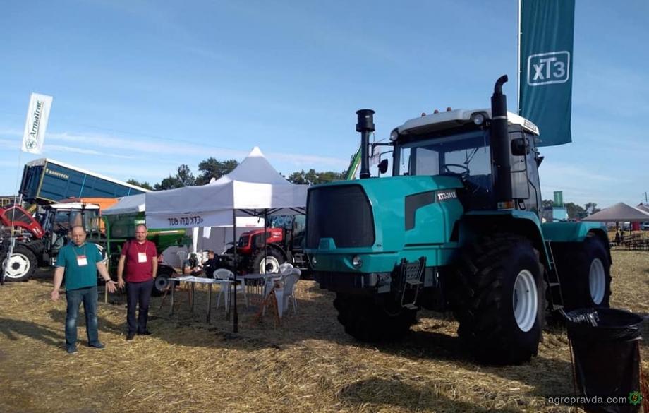ХТЗ на «Битве Агротитанов» представил обновленные модели тракторов