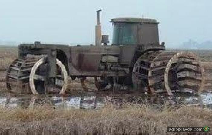 Лучшие тракторы для болота. Видео