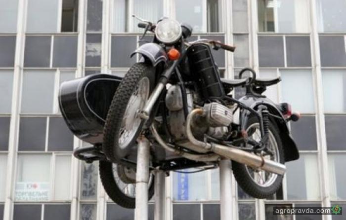 Мотоцикл Времени: «Днепр-16»
