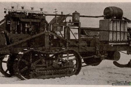 Экзотические трактора начала XX века. Фото