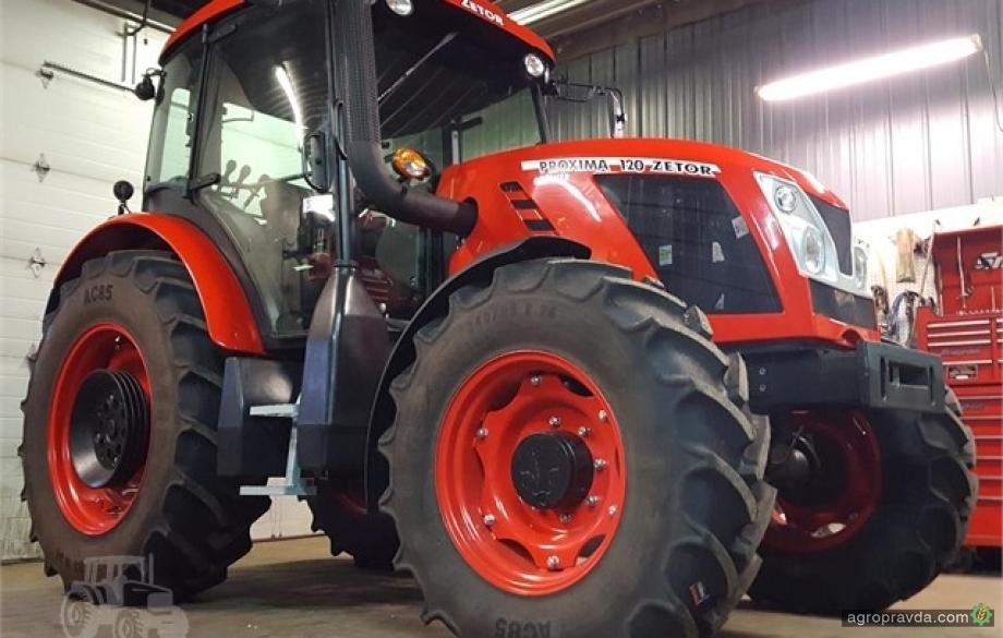 Трактор Zetor Proxima Power 120 бьет рекорды по продажам