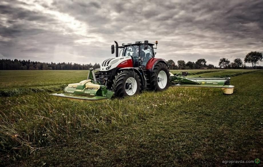 Steyr разрабатывает интеллектуальные колеса для трактора