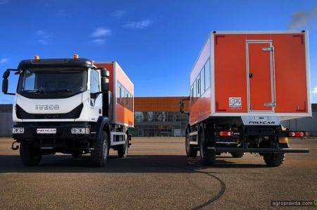 На базе IVECO Eurocargo изготовлена партия комфортабельных внедорожных вахтовок