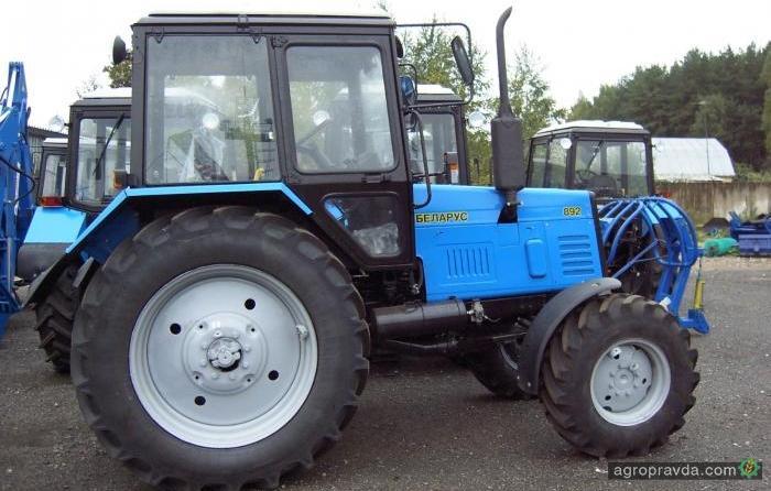 текущий ремонт трактора мтз 80