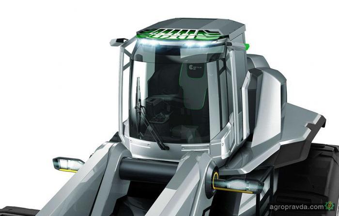Какой будет кабина трактора в будущем