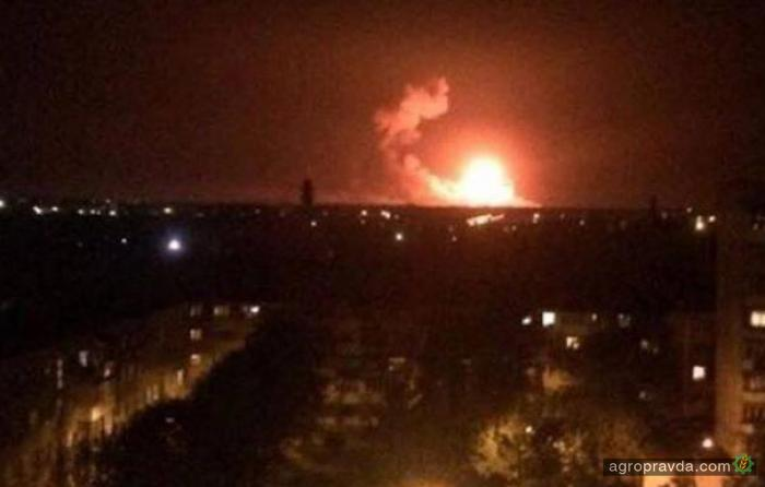 Из-за взрывов под Винницей остановили работу склады минудобрений