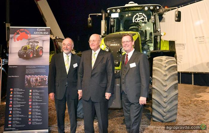 Как выбирали «Трактор года» на Agritechnica 2013